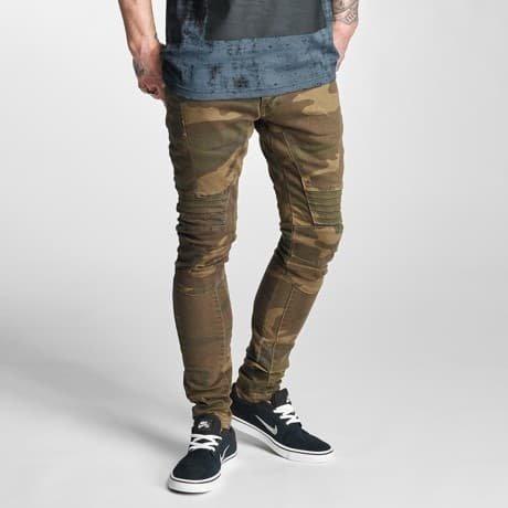 2Y Slim Fit Farkut Camouflage