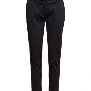 2nd One Carine 065 Black Pants suorat housut