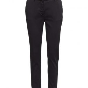 2nd One Carine 065 Navy Pants suorat housut