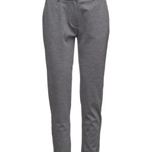 2nd One Carine 079 Grey Medley Pants suorat housut