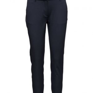 2nd One Carine 111 Navy Melange Pants suorat housut