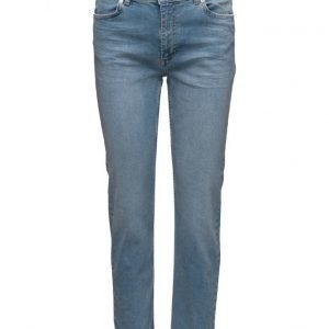 2nd One Malou 084 Crop Blue Worth Jeans suorat farkut