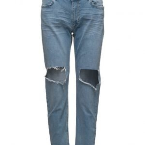 2nd One Malou 084 Crop Worth Cut Jeans boyfriend farkut