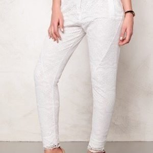 2nd One Miley 070 Pants White Scallop