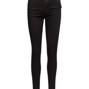 2nd One Nicole 002 Satin Black Jeans skinny farkut