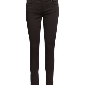 2nd One Nicole 006 Moon Black Satin Jeans skinny farkut