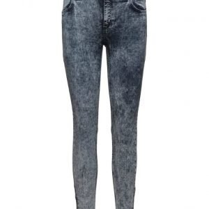 2nd One Nicole 015 Zip Showy Blue Jeans skinny farkut