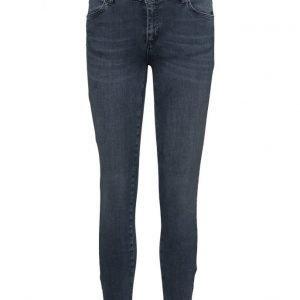 2nd One Nicole 106 Zip Smoke Blue Jeans suorat farkut