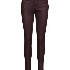 2nd One Nicole 108 Puce Coated Pants skinny farkut