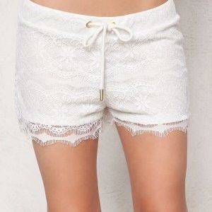 2nd One Sia 070 Shorts White Scallop