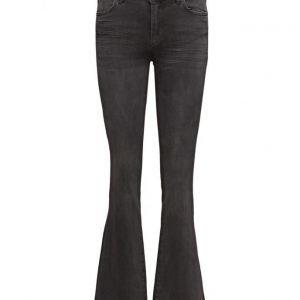 2nd One Uma 004 Dark Youth Jeans (31) leveälahkeiset farkut