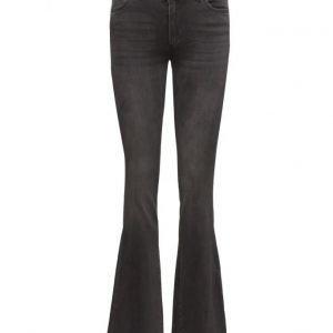 2nd One Uma 004 Dark Youth Jeans (33) leveälahkeiset farkut