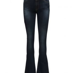 2nd One Uma 014 Blue Midnight Jeans (33) leveälahkeiset farkut