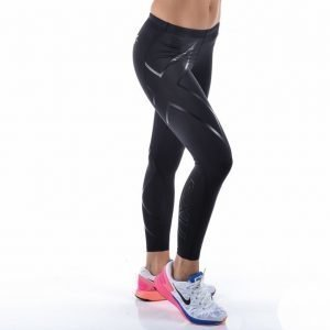 2xu Compression Tights Kompressiotrikoot Musta / Musta