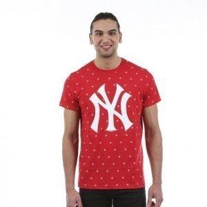 47 Brand Cosmos Tee T-paita Punainen