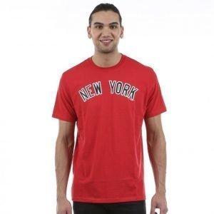 47 Brand Crosstown Frozen Rope Tee T-paita Punainen