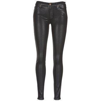 7 for all Mankind THE SKINNY LEATHER LOOK slim farkut