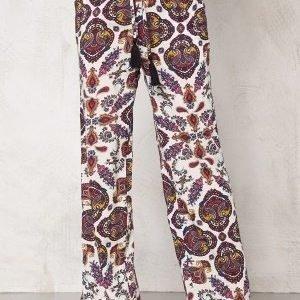 77thFLEA Antalya trousers Offwhite AOP