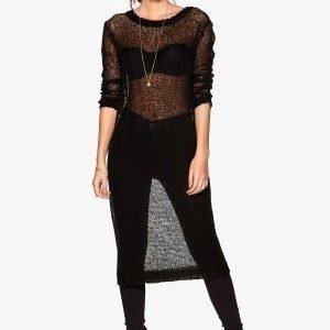 77thFLEA Anyang long sweater Black