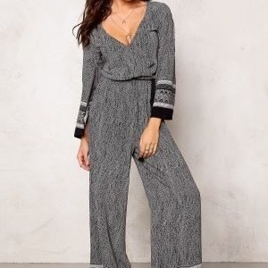 77thFLEA Bangalore jumpsuit Black / White
