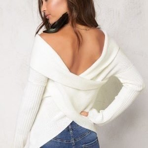 77thFLEA Brixia knitted sweater Offwhite