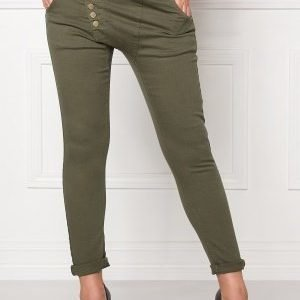 77thFLEA Deanne girlfriend jeans Army green