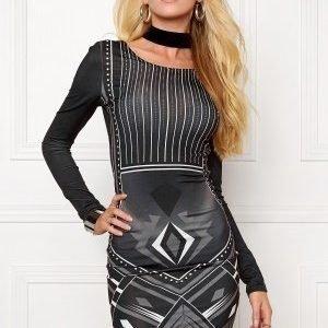 77thFLEA Fabulous dress Dark grey