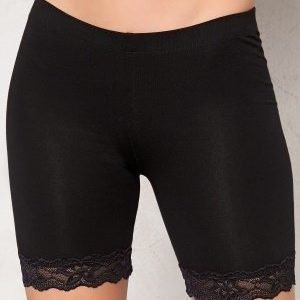 77thFLEA Juli short lace leggings Black