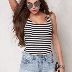 77thFLEA Martha body Striped / Black / White