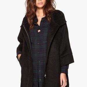77thFLEA Naju coat Black