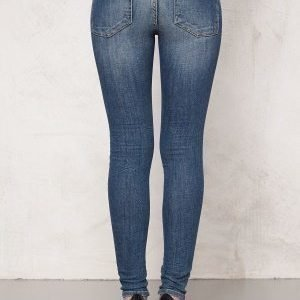 77thFLEA Patti stretch jeans Mid blue