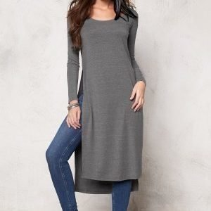 77thFLEA Santiago long top Light grey melange