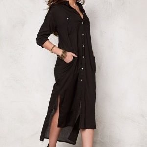 77thFLEA Singapore long shirt Black