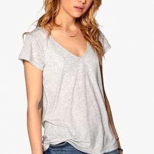 77thFLEA T-paita Lola Mel. harmaa