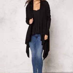 77thFLEA Texas knitted cardigan Black