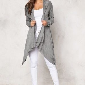 77thFLEA Texas knitted cardigan Light grey melange