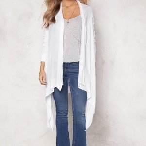 77thFLEA Texas knitted cardigan White