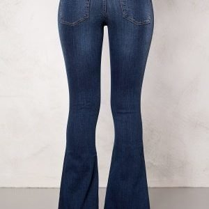 77thFLEA Tove Flared Superstretch Dark mid blue