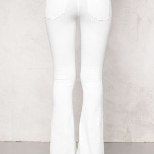 77thFLEA Tove Flared Superstretch White