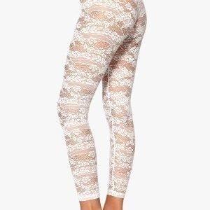77thFLEA n.e.e.d.s Leonore lace leggings White