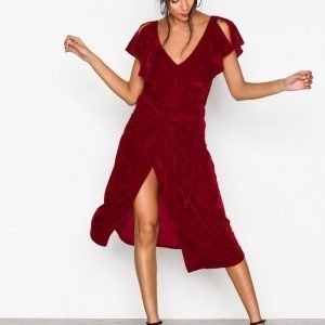 Aéryne Lexi Dress Loose Fit Mekko Red
