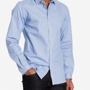 ADPT. Adptpay Shirt M Kauluspaita Sininen