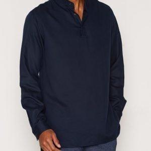 ADPT. Adptpedro Ls Shirt M Kauluspaita Tummansininen