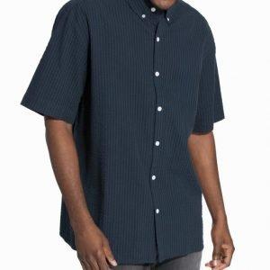 ADPT. Adptpower Ss Shirt M Kauluspaita Tummansininen
