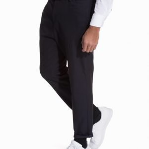 ADPT. Adptundiscovered Cropped Pants M Puvunhousut Tummansininen