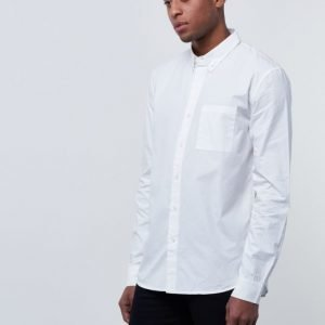 A.O CMS Men LS Shirt White