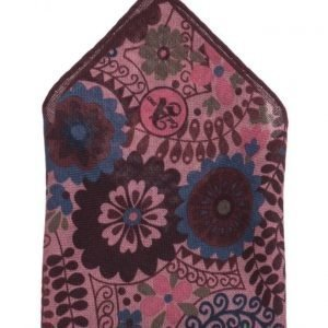 ATLAS DESIGN Hanky Flower Wine taskuliina