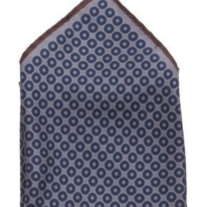 ATLAS DESIGN Hanky Grafic Dot Navy Line Grey taskuliina