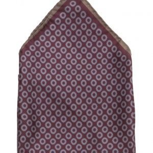 ATLAS DESIGN Hanky Grafic Dot Navy Line Wine taskuliina