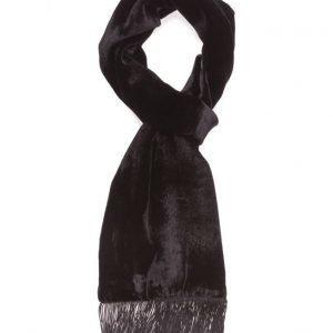 ATLAS DESIGN Scarf Velvet Black huivi